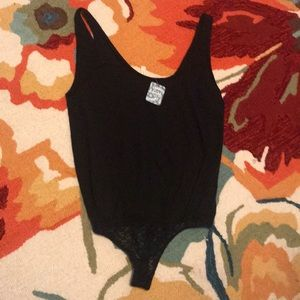 Free people black bodysuit